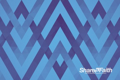 Blue Chevron Worship Motion Background