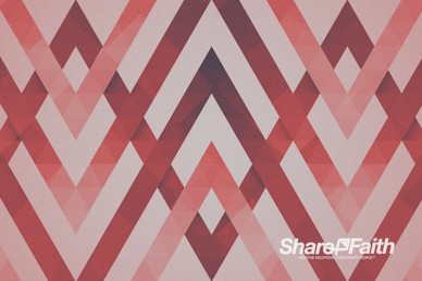 Red Chevron Worship Motion Background