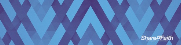 Blue Chevron Triple Wide Motion Background