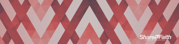Red Chevron Triple Wide Motion Background