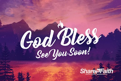Church Summer Camp Goodbye Motion Graphic