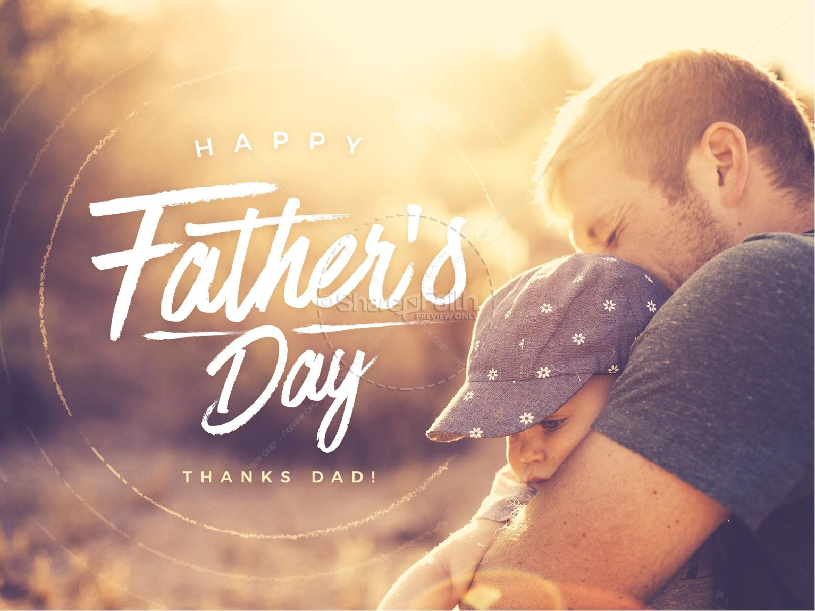 A Father's Love Church Father's Day PowerPoint | Fathers ...