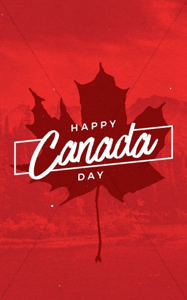 Canada Day Holiday Church Bulletin