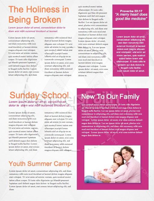 Graduation Sunday Chevron Church Newsletter