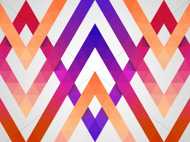 Graduation Sunday Chevron Worship Background