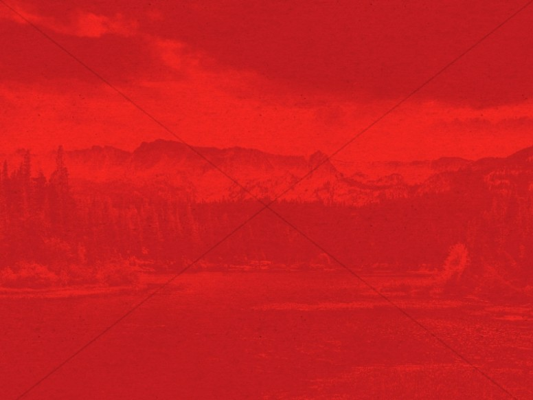 Canada Day Mountains Worship Background