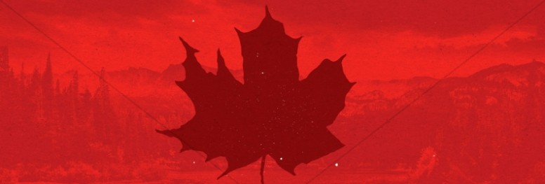 Canada Day Holiday Church Website Graphic