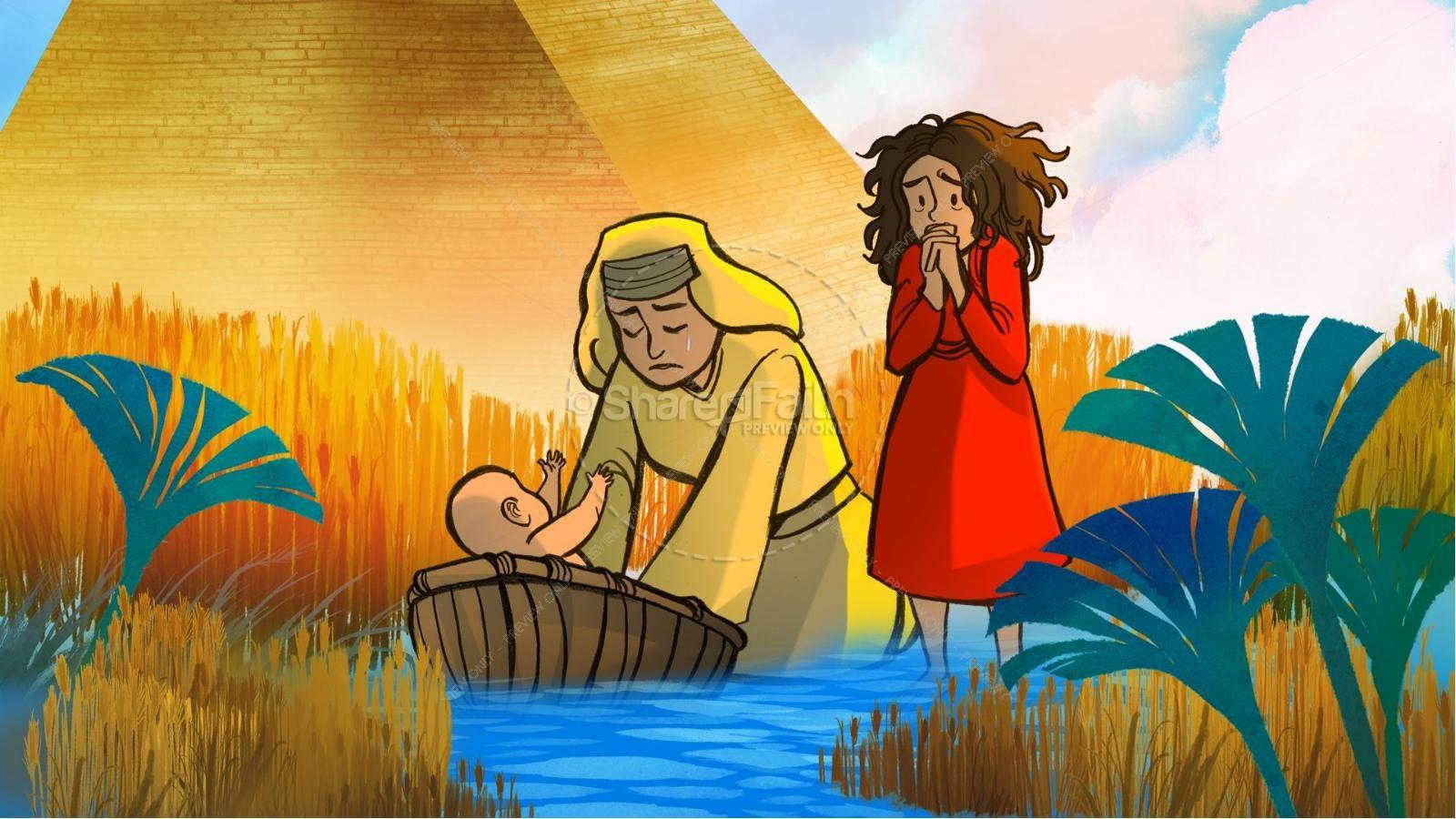 Moses exodus story
