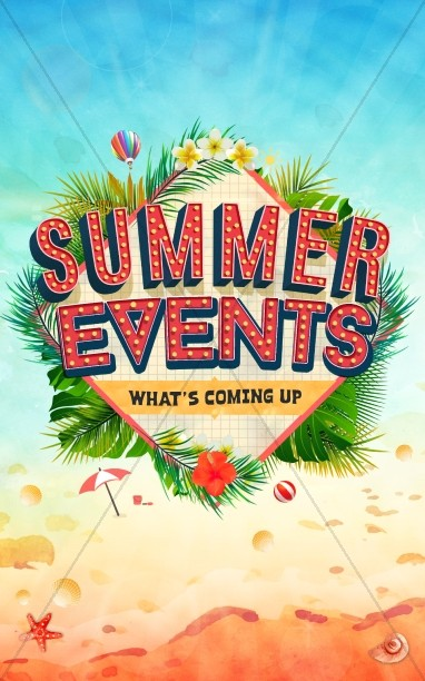Summer Events Church Bulletin