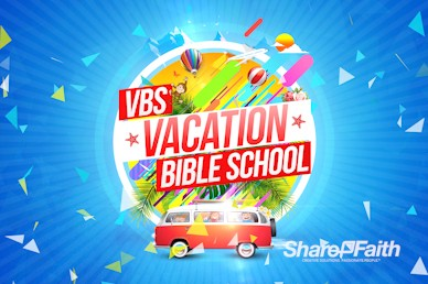 Church Vacation Bible School Motion Graphic