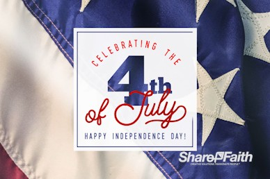 Celebrating the 4th of July Motion Graphic