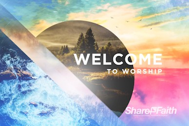 Holy Living Welcome Motion Graphic