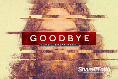 Who Is Jesus Goodbye Motion Graphic