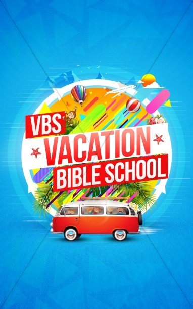 Church Vacation Bible School Bulletin