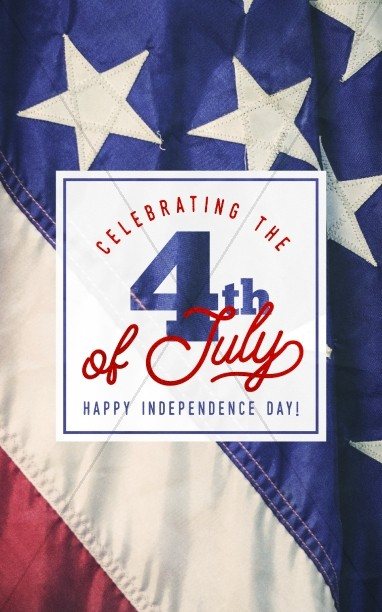 Celebrating the 4th of July Bulletin Cover