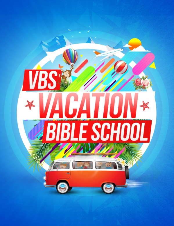 Church Vacation Bible School Flyer