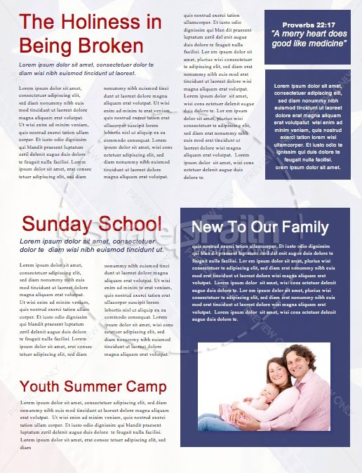 Celebrating the 4th of July Newsletter Template | page 2