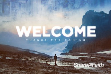 Strangers In A Strange Land Welcome Motion Graphic
