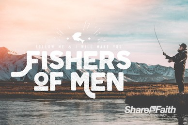 Fishers of Men Church Motion Graphic