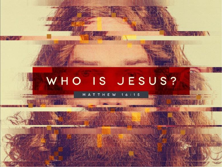 Who Is Jesus Sermon Graphic