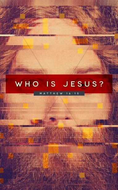 Who Is Jesus Church Bulletin Cover