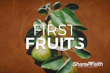 First Fruits Church Motion Graphic