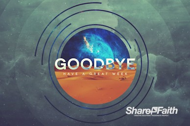 Genesis Goodbye Motion Graphic