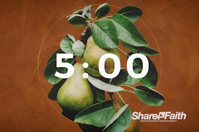 First Fruits Church Countdown