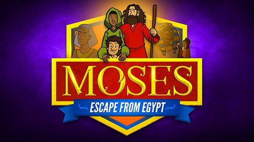 Exodus 2 Moses Escapes From Egypt Bible Video for Kids