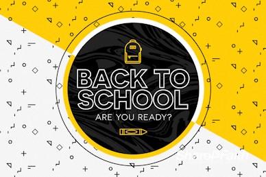 Back To School Church Service Bumper Video