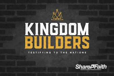 Kingdom Builders Church Motion Graphic