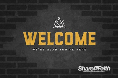 Kingdom Builders Welcome Motion Graphic