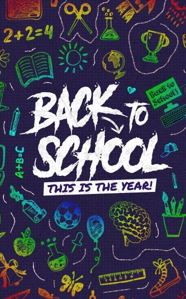Back To School Bulletin Cover Design