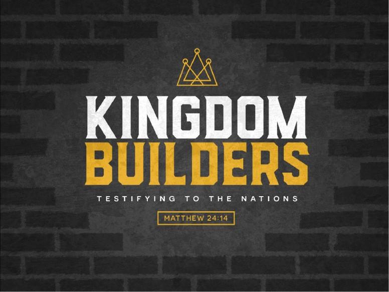 Kingdom Builders Sermon Graphic