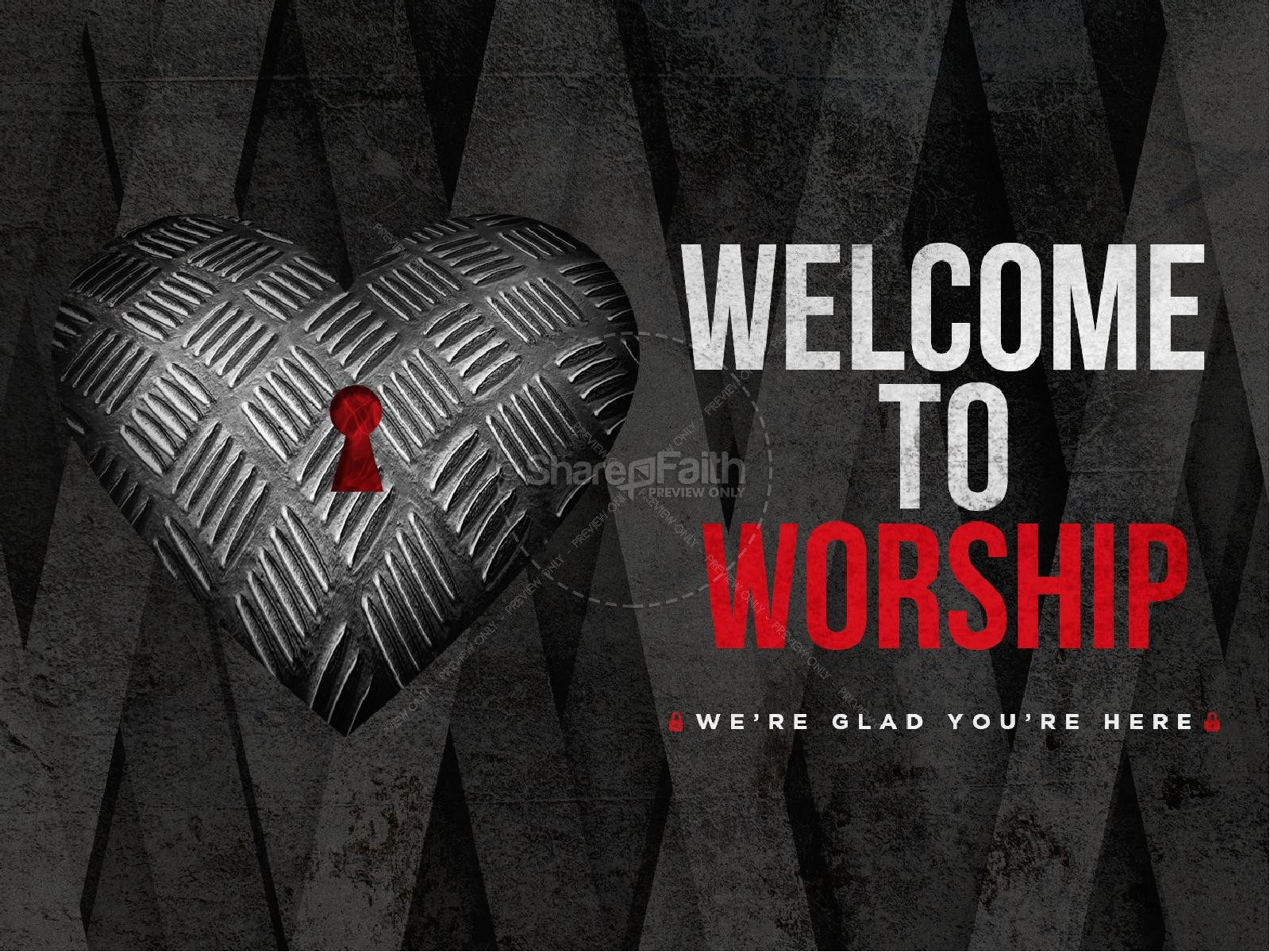 Guard Your Heart Sermon PowerPoint Template