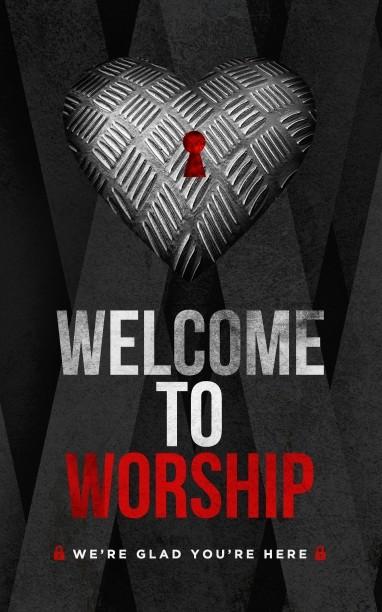 Guard Your Heart Church Bulletin Cover