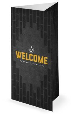 Kingdom Builders Church Tri Fold Bulletin Cover