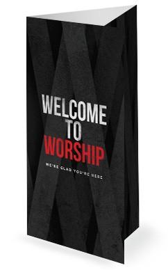 Guard Your Heart Church Tri Fold Bulletin Cover