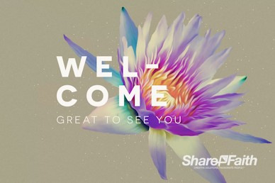 Generosity Sermon Series Welcome Motion Graphic