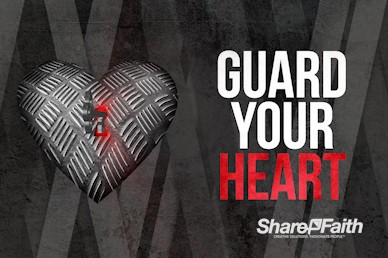Guard Your Heart Church Motion Graphic