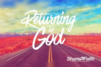 Returning To God Church Motion Graphic