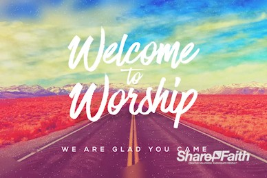 Returning To God Welcome Motion Graphic