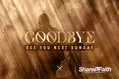 Spiritual Battle Goodbye Motion Graphic