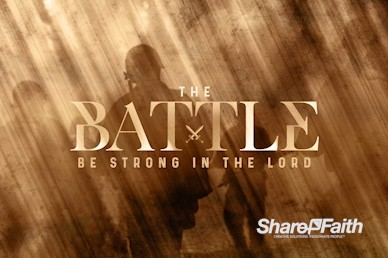 Spiritual Battle Church Motion Graphic