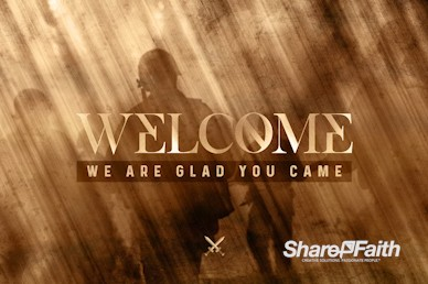 Spiritual Battle Welcome Motion Graphic