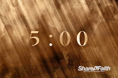 Spiritual Battle Church Countdown Video