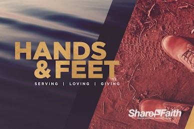 Hands And Feet Church Motion Graphic