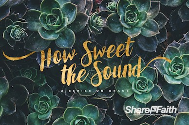 How Sweet The Sound Church Motion Graphic