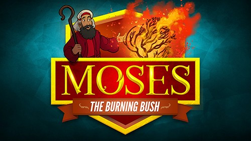 Exodus 3 Moses and the Burning Bush Bible Video for Kids