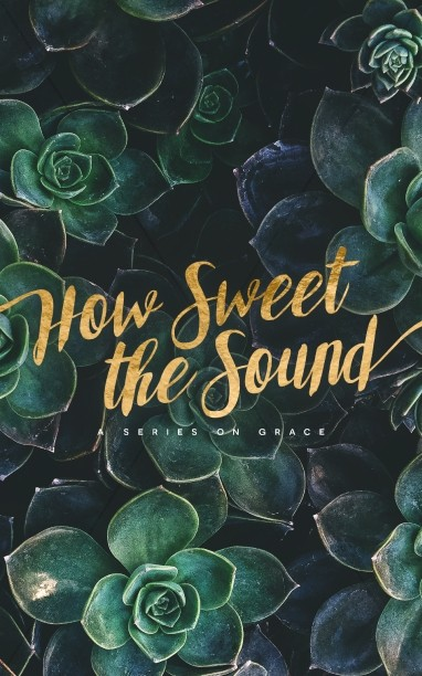 How Sweet The Sound Church Bulletin Cover Template